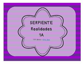 Serpiente (Board Game) Realidades I - 1A