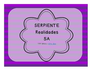 Serpiente (Board Game) Realidades I - 5A