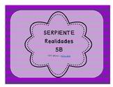 Serpiente (Board Game) Realidades I - 5B