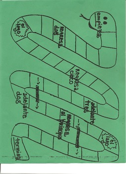 Serpiente game - snake board
