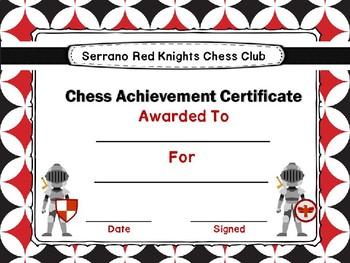 Serrano Chess Club