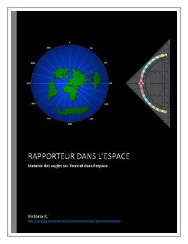 Sers toi d'un rapporteur dans l'espace