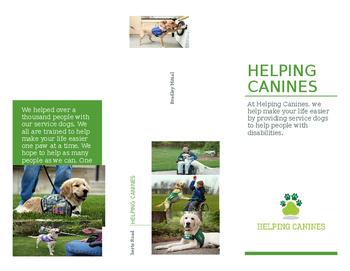 Service Dog Brochure