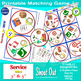 """Service Mini Shout Out Matching Game; 13 - 3"""" or 5"""" cards"""