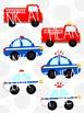 Service Vehicles Clip Art