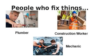 Service Workers Powerpoint lesson