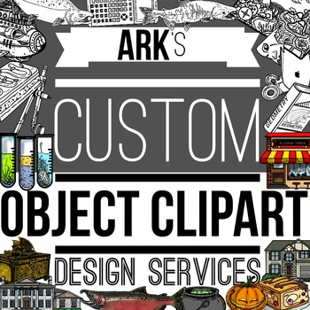 Custom Object Clipart Service