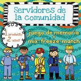 Servidores de la Comunidad - {2 en 1} Mix-Freeze-Match & Juego de Memoria