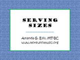 Serving Sizes
