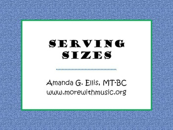 Serving Sizes