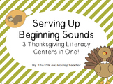 Serving Up Beginning Sounds for Thanksgiving