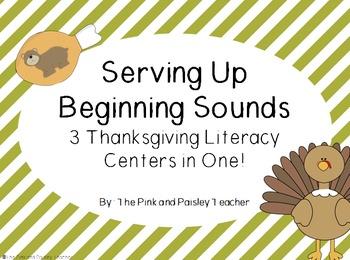 Serving Up Beginning Sounds for Thanksgiving