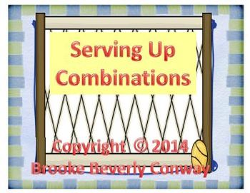 Serving Up Math Combination Problems