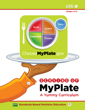 Serving Up MyPlate - A Yummy Curriculum: Level 1 (Grades 1 & 2)