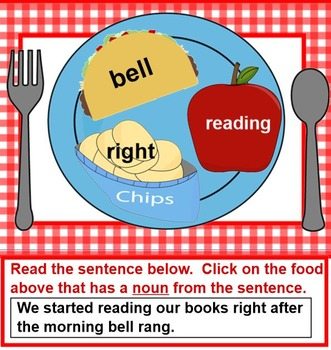 Serving Up Nouns and Verb - Blue Plate Special
