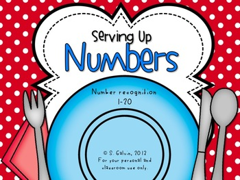 Numbers 1-20 Game - Serving Up Numbers