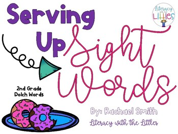 Serving Up Sight Words {2nd Grade Dolch Words}