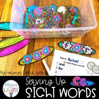 Serving Up Sight Words {Pre-Primer Dolch Words}
