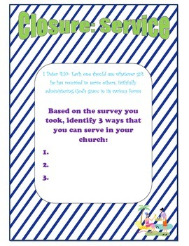 Instant Bible Lesson: Serving the Church