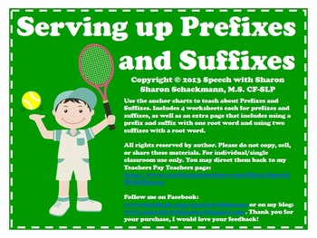 Serving up Prefixes and Suffixes