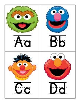 Sesame Street Word Wall Headers