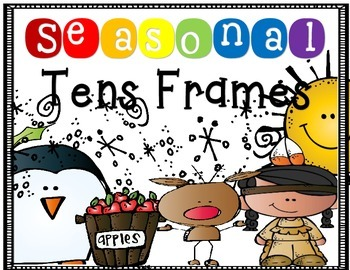 Seasonal Ten Frames 0-10 September-May