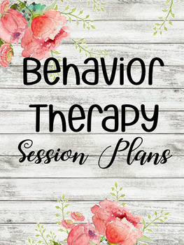 Session Planner Behavior Therapy Version