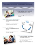 Sessions with your SLP in Early Intervention