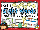 Set 1 Kindergarten Sight Word Activities {SMARTboard}