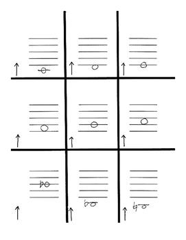 Set 1 Note & Fingering Flash Cards for Beginning Band