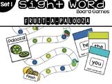 Set 1 Sight Word Board Games: Fruit-A-Palooza