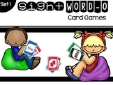 Set 1 Sight Word-O Card Game