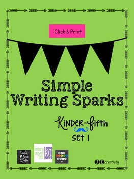 Set 1 Simple Writing Sparks