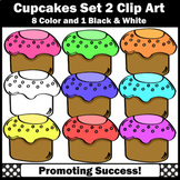 Cupcake Clipart Set 2 SPS