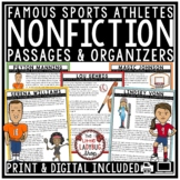 Sports Theme Digital Nonfiction Reading Comprehension Pass
