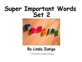 Super Important Words Set 2 For Printing