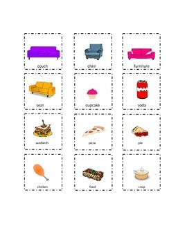 Set 4 Playtime Sight Words Cut and Paste Kindergarten