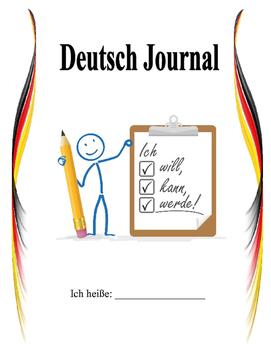 Separable Verbs Present Perfect Journal Topics - Set 5