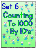 Counting to 1000 By 10 Worksheets - Set 6