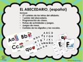 Set/ Bundle El Abecedario / Alfabeto (Español / Spanish)