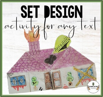 Set Design Activity For ANY Text