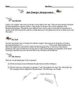 Set Design Assignment