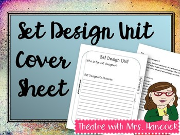 Set Design Unit Cover Sheet