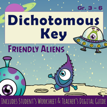 The Dichotomous Key of Friendly Aliens with Guide How to Identify Creatures