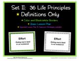 Set II:   36 Life Principle Posters