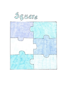 Set of 4 Simple Shape Puzzles - Autism, Fine Motor Skills, Early Learn