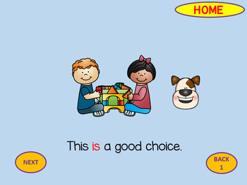 Set Positive Behavior Expections - Making Good Choices at School