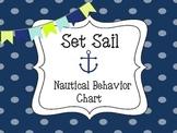 Set Sail - Nautical Behavior Chart