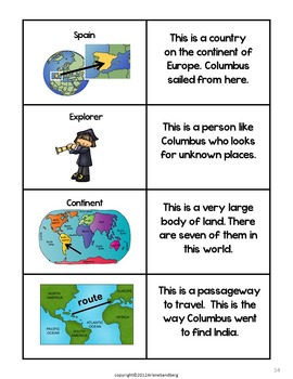Columbus and Columbus Day: Reading and Writing Unit