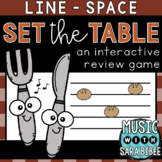Set The Table (Line/Space) an Interactive Music Concept Re